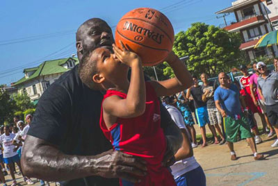 Shaquille O'Neal all'Avana