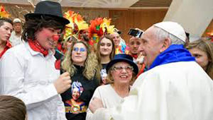 Il Papa e il clown cubano
